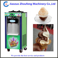 220V commercial soft ice cream maker machine
