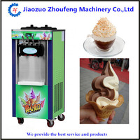 220V commercial soft ice cream maker machine