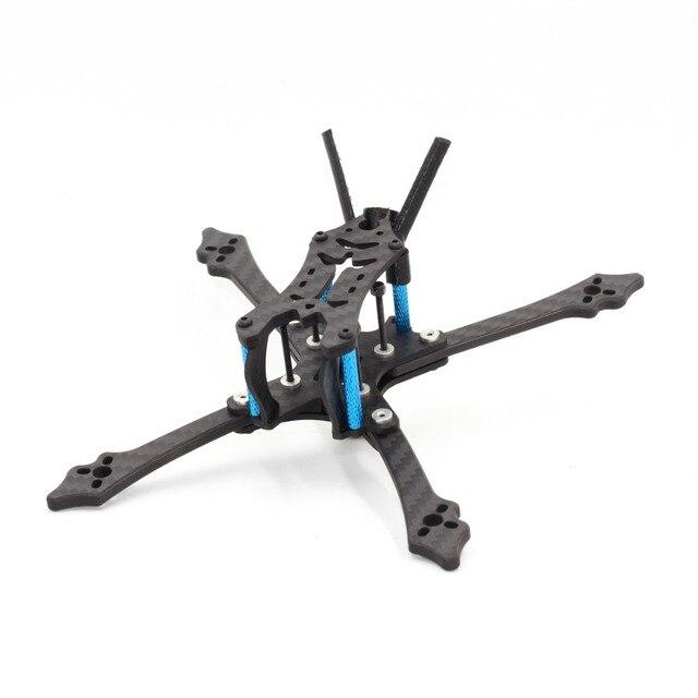 HGLRC Arrow3 3 pulgadas híbrido de carbono puro de distancia entre ejes de 152mm 4mm brazo para FPV Racing RC Drone DIY parte