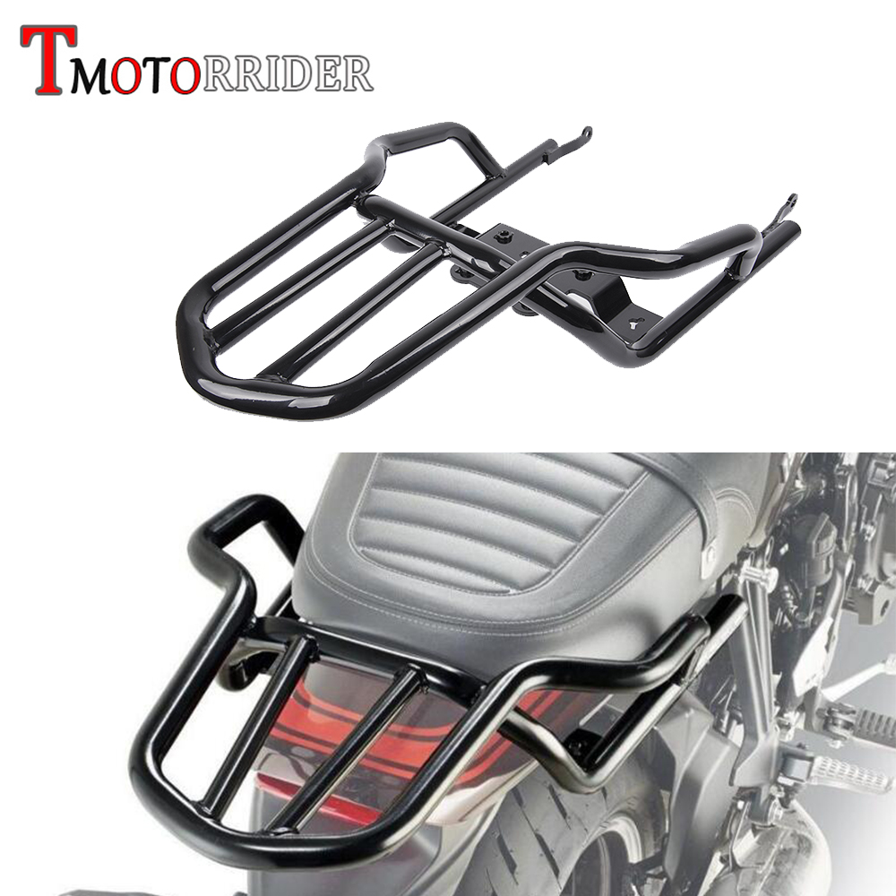 Motorcycle Rear Luggage Rack Steel Extend Cargo Bag Case Box Support Carrier For 2018 Kawasaki Z900RS Z 900 RS ABS/ Cafe ABS