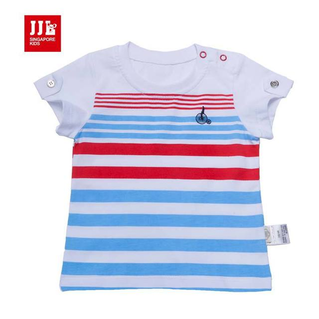 baby t-shirt short sleeve baby clothes brand 100% cotton infant shirts summer newborn baby clothing