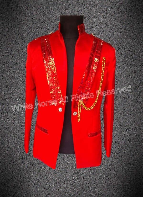 2016 new arrival fashions red bomber jacket men white mens costume gilet homme cheap men stage. Black Bedroom Furniture Sets. Home Design Ideas
