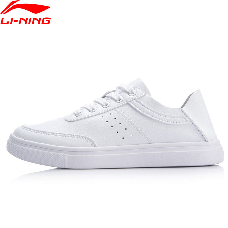 Li-Ning Women REMODEL Classic Lifestyle Shoes Light Weight Flexible LiNing Comfort Sport Shoes Sneakers AGCP062 SAMJ19