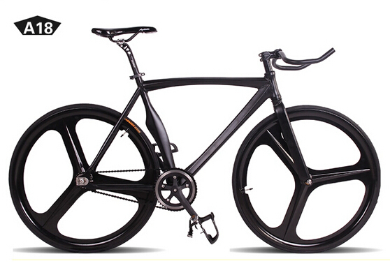 fixie Bicycle Fixed gear bike curved frame fixed gear super muscular ...