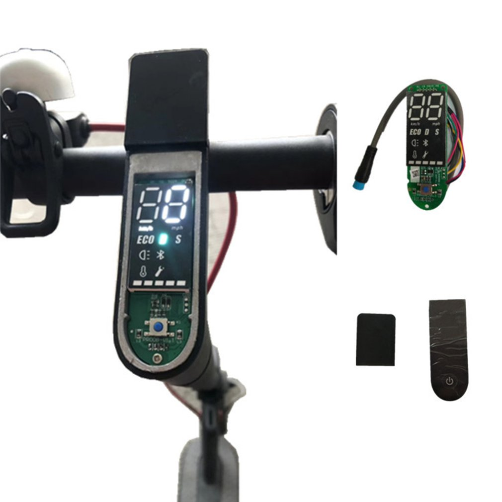 Scooter Dashboard Met Screen Cover Scooter Pro Printplaat M365 Pro Accessoires