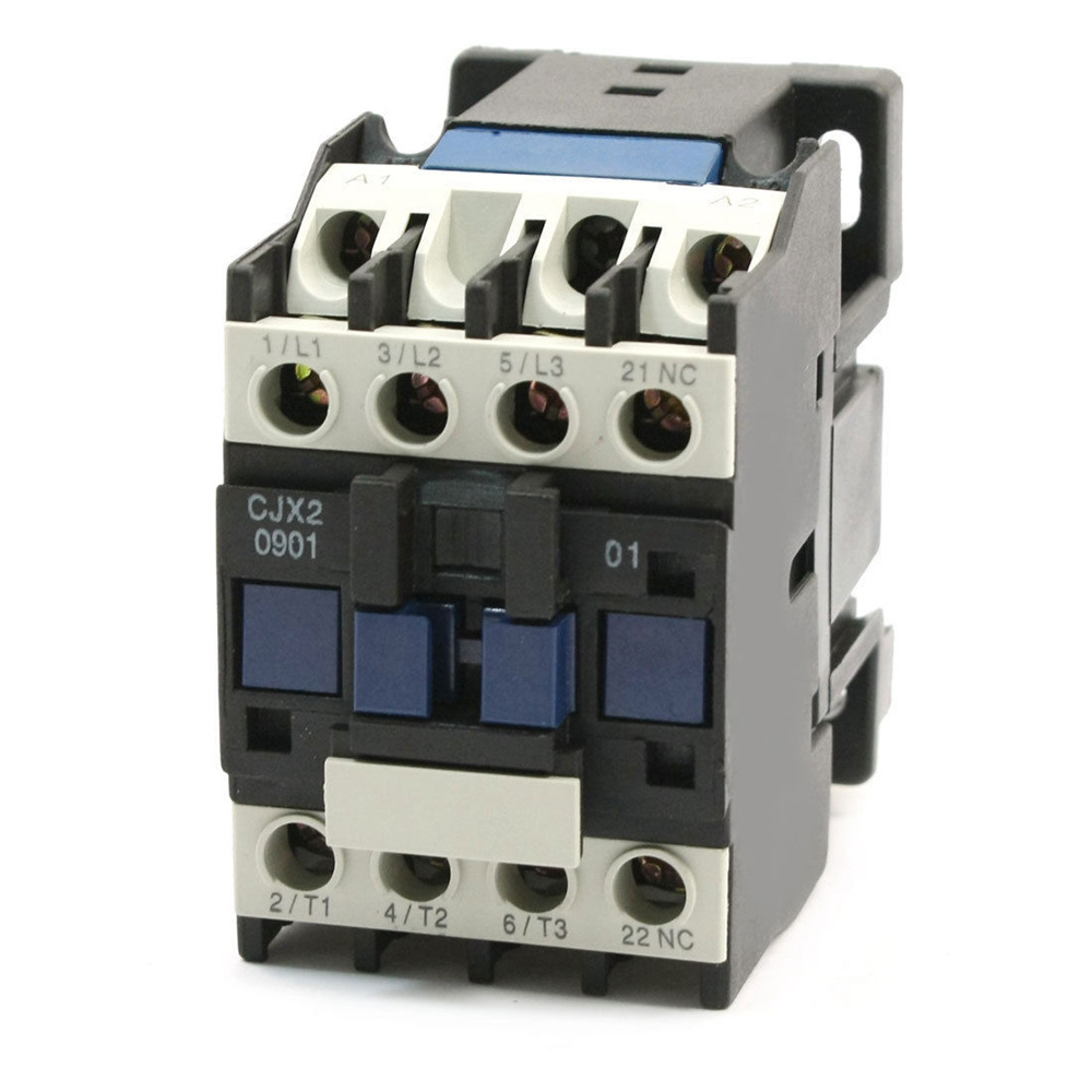 CJX2-0901 3 Pole Coil Voltage Operational Current Motor Control AC Contactor