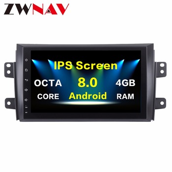 Newest Octa Core Android 8.0 Car Radio Unit For Suzuki Swift 2005-2010 GPS Multimedia Auto Stereo Car no dvd Player HIfi Music image