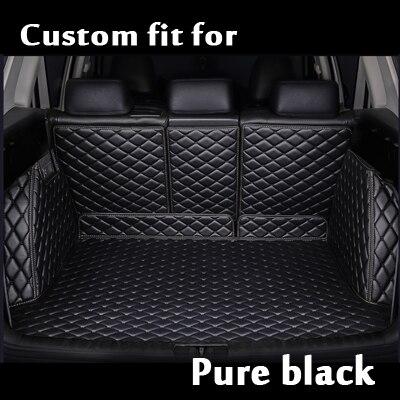2018 Carpet Cargo Liner Custom Fit Pu Leather Car Trunk Mat Cargo Mat Cargo Liner For Chevrolet Spark Camaro Silverado Colorado