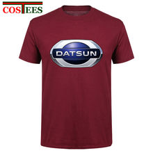 wholesale Japanese style mens t shirt 3xl 2017 fashion nissan datsun funny t shirts brand hi streetwear clothing tee shirt homme(China)