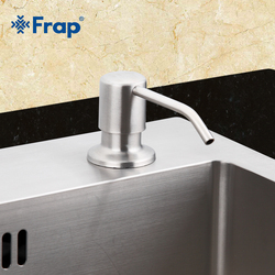 Frap Deck Mounted Hand Soap Dispenser Stainless Steel Liquid Soap Bottle Kitchen Accessories F405-1D