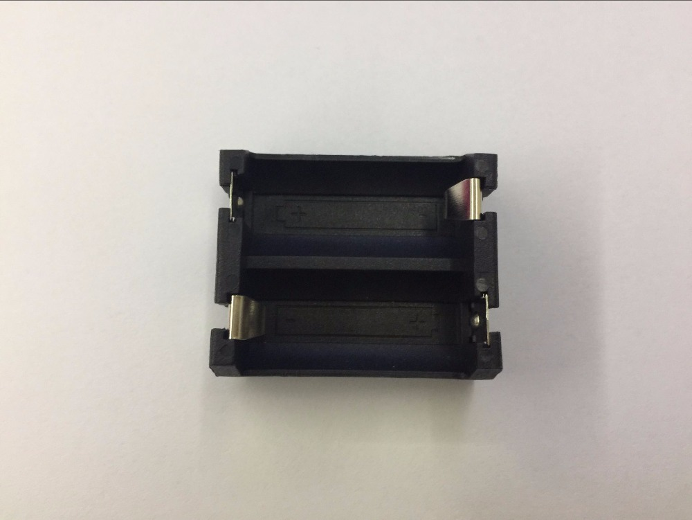 1PCS/lot DIY 2 Slot CR123A/16340 Protective Cover Lithium Battery Storage Box Cell Button Battery Holder Case With Pin