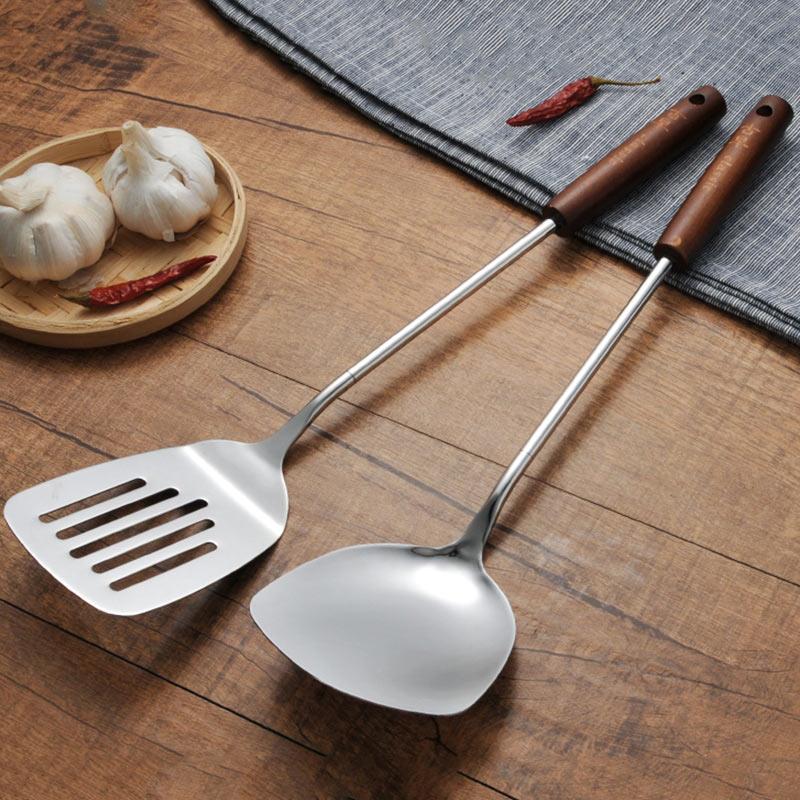 Restaurant Kitchen Utensils: 4Pcs/Set Multifunction Stainless Steel Kitchen Cooking