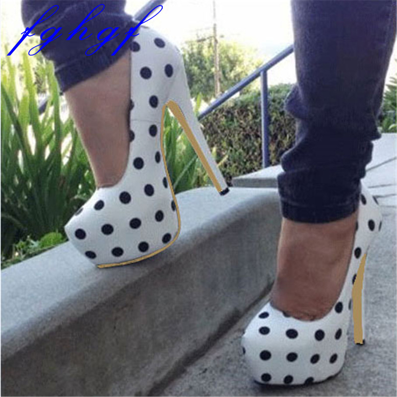 Buy polka dot wedding shoes and get free shipping on AliExpress.com