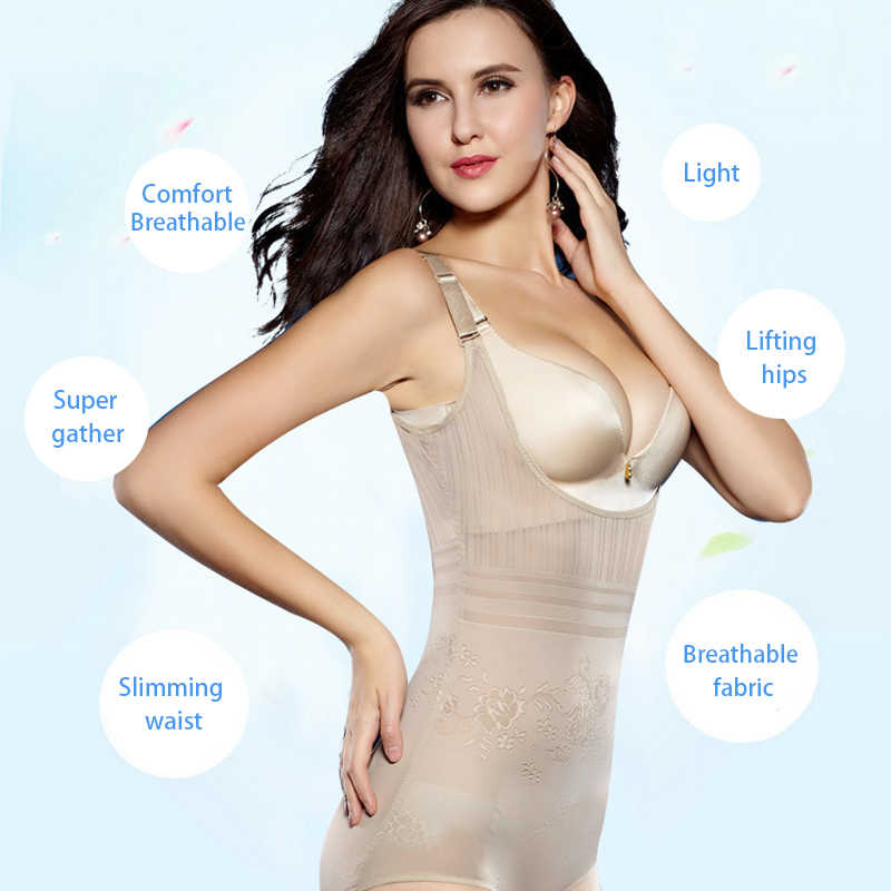 ... Women Post Natal Postpartum Slimming Underwear Shaper Recover Bodysuits  Shapewear Waist Corset Girdle Black Apricot ... c3e9c32a3