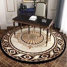 Современный 240 см круглый ковер для гостиной, дома, спальни, коврики и ковры, компьютерный стул, коврик для кабинета/столовой/коврик для ресторана