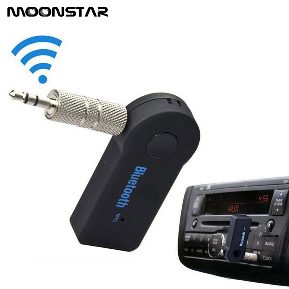 Bluetooth Receiver Car Portable Wireless Audio Adapter 3.5 mm car Music Sound hand free Receiver Adapter For Smartphone /PC