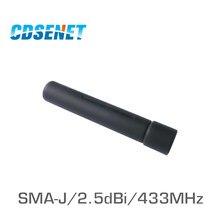Antenne omnidirectionnelle uhf 433MHz à Gain élevé pour la Communication, 2 pièces, CDSENET SMA mâle 2.5dBi Omni Wifi