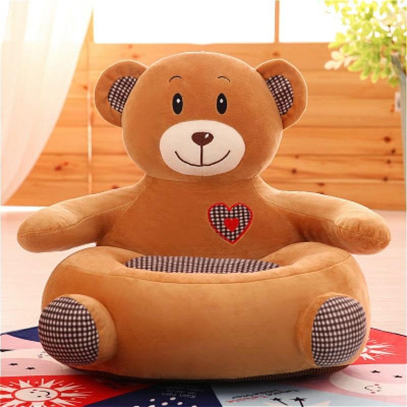 Household Kids Lazy Sofa Small Size Tatami Cushion Creative Children Plush Toys Cartoon Doll Soft Kindergarten Children Sofa