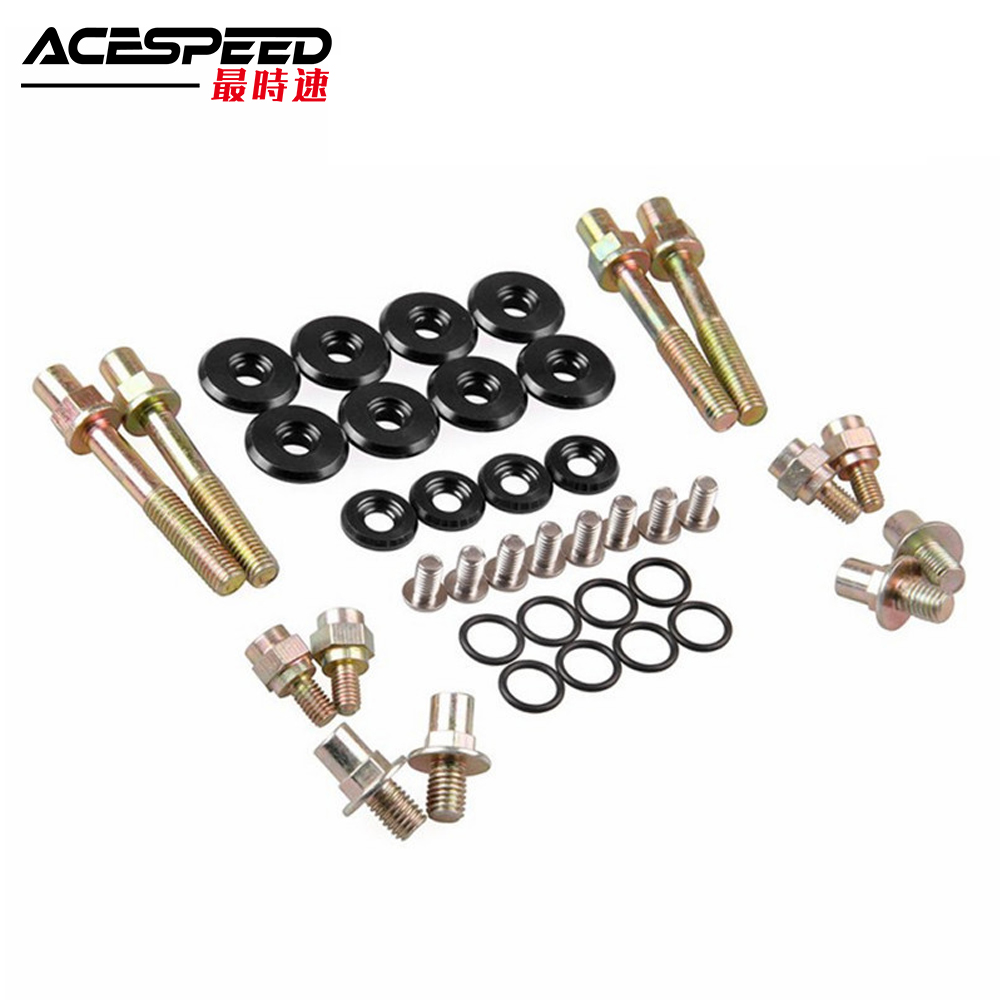 Car Low-Profile ENGINE VALVE COVER WASHERS KIT For HONDA B-Series H-Series VTEC Acura Integra RSX For Honda Delsol Si