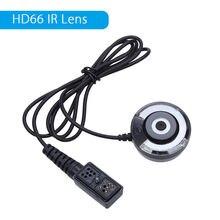 BOBLOV 720 H Infravermelho Night Vision Full HD Externo IR Lente de Vidro 1/3 de polegada CMOS IR Mini Câmera Para HD66 Junto Ao Corpo Da Câmera Ambarella
