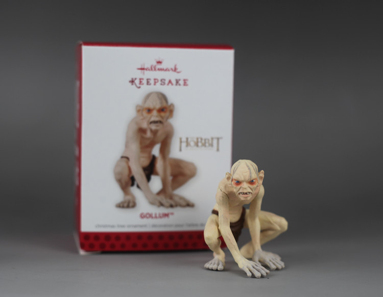 Lord of the Rings toy Gollum action figure Hang furnishing articles The Hobbit Keepsake hallmark toys model best gift ...