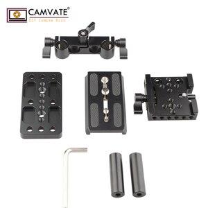 Image 2 - CAMVATE クイックリリースマウントベース Qr プレートマンフロット標準付属品 C1437 カメラの撮影アクセサリー