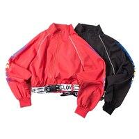 long sleeve bomber jacket for women autumn korean outerwear print casual jacket womens Loose Zipper women's jacket warm autumn