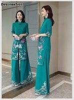 2019 summer vietnam aodai chinese traditional dress chinese dress qipao long chinese cheongsam dress chinoise modern cheongsam