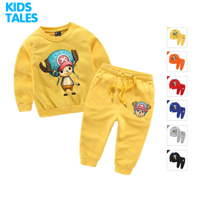 New Boys Clothes Sets Spring Autumn Baby Kids Sets Cotton Boy Tracksuits Kids Suits Long Sleeve T Shirt + Pants Unisex 2-10 Year