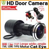 2017 Upgrade New 170 Degree Wide Angle Door Eye Cmos 800TVL Bullet Mini CCTV Camera
