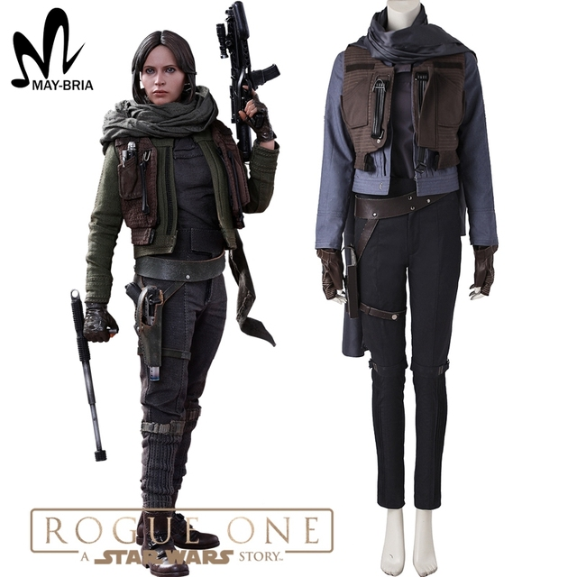 Jyn Erso cosplay Costume Rogue One A Star Wars Story costume Jyn ...