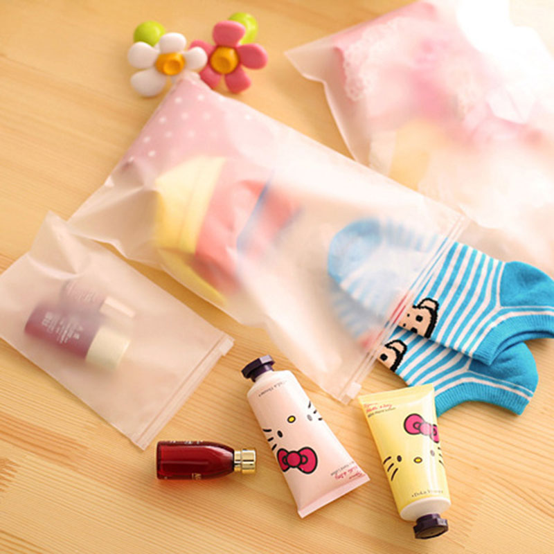 Transparent Plastic Document Bag/paper Bag/FIle Bag/file Holder/Notes Pouch Zip Closure School Office Supply High Quality