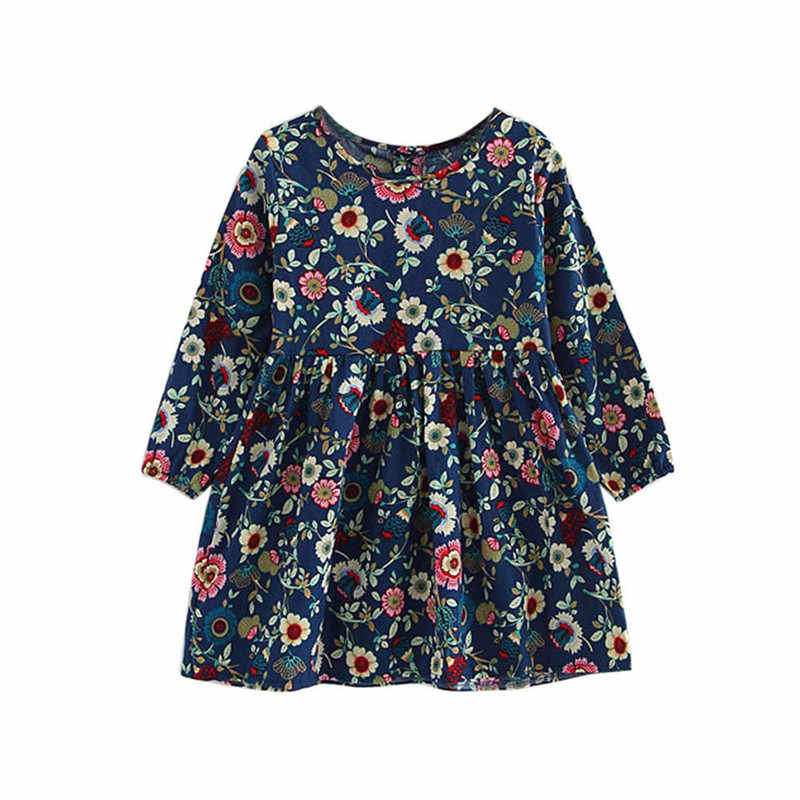 Telotuny Children's Clothing Toddler Baby Girls Dress Long Sleeve Princess Party Pageant Dresses Kids Clothes Girls Summer Dress