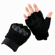 climbing bicycle outdoor Riding hiking climbing training tactical Half Finger gloves for men fingerless army gloves