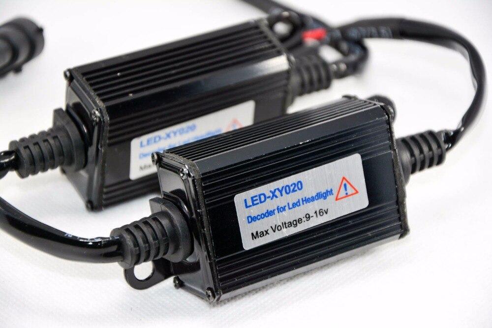 1 par H11 Automatski LED dioda za pretvorbu prednjih svjetala - Svjetla automobila - Foto 4