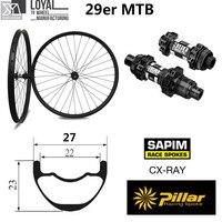 DT Swiss 350 Series 29er Mountain Bike Wheel Toray T700 Carbon Fiber Rim Tubeless For Cross Country MTB Wheelset China