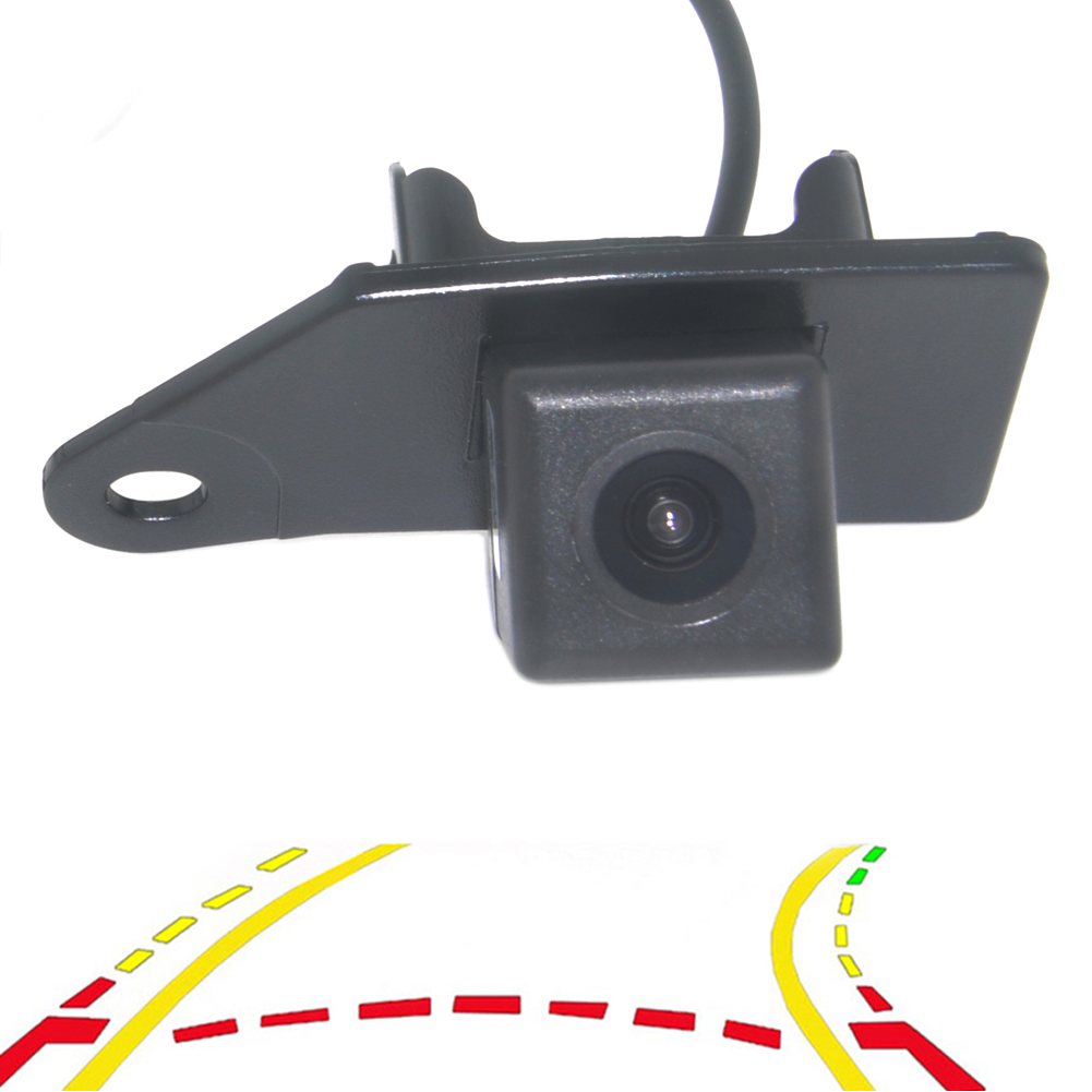 Intelligent Dynamic Trajectory Tracks Rear View Mirror Parking System Camera With Moving Guide Parking Line For Mitsubishi ASX|Vehicle Camera| |  - title=