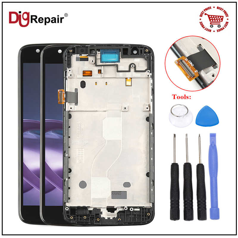 LCD Display Touch Screen Digitizer Assembly for Motorola