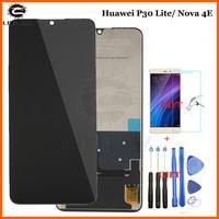 Original 6.15 for Huawei P30 Lite/ Nova 4E LCD Display Touch Screen Digitizer Assembly LCD Display P30 Lite Repair Parts