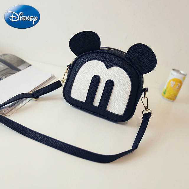 605b522eaa70 US $18.45 |Disney Children Mickey Minnie Mouse Shoulder Bag Crossbody Bags  Stylish Women Handbags Messenger Fashion Girls Christmas Gift-in Plush ...
