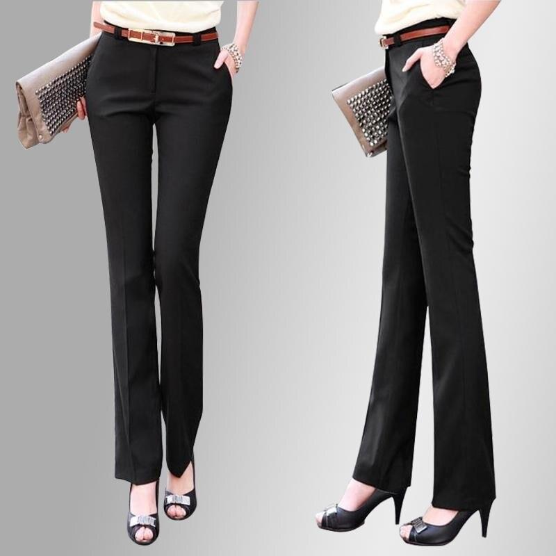 Spiralblogreloaded Comprar Nuevo 2018 Marca Ol Estilo Trajes Otono Pantalones Largos Elasticos Slim Lapiz Formales Talla Grande Xs 5xl Mujeres Online Baratos