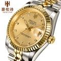 HOLUNS Luxury женские часы автоматические механические часы из нержавеющей стали золотые часы