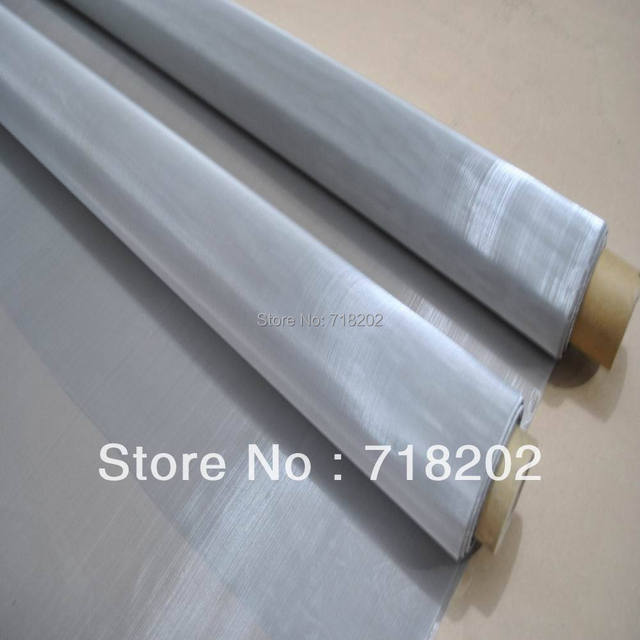 Direct Factory 400 mesh stainless steel wire mesh 1mx 30m a lot-in ...
