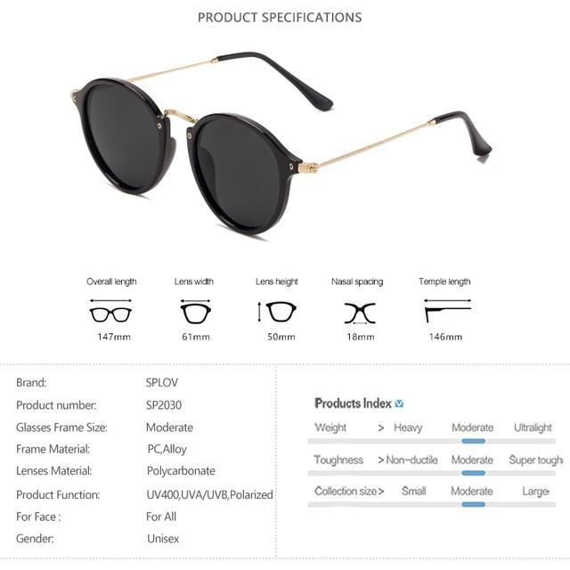 Gafas de sol redondas con revestimiento Retro Para hombre y mujer, anteojos de sol de marca de diseñador, gafas espejadas Vintage, novedad 4