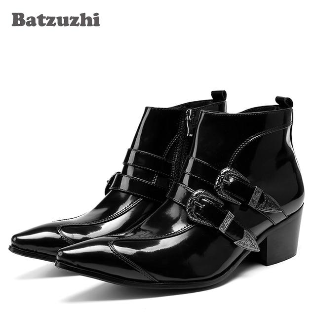 c1723ccfc04 manière de style japonais batzuzhi. cm de talons talons talons de bottines  noires