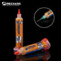MECHANIC RMA-UV10 10cc Syringe Solder Paste Cream Soldering Flux For PCB/BGA/PGA/SMD Soldering Welding Repair Rework