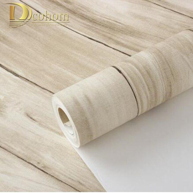 vintage rivestimento in legno-acquista a poco prezzo vintage ... - 3d Sfondo Del Pannello Di Legno Moderno Vinile Carta Da Parati Per Soggiorno