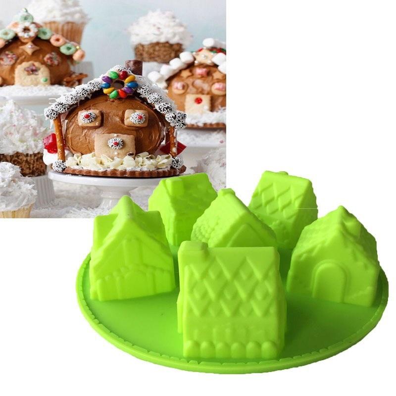 силикон пирожкалары 6 кішкене үйде - Тағамдар, тамақтану және бар - фото 1