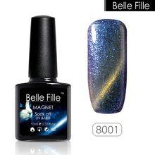 10ml UV/LED Gel Nail Chameleon Cat Eyes Magnetic Nail Gel Polish DIY Nail Art Soak Off Varnish bling Long lasting Painting Gel