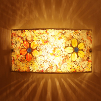 Rustic Wall Lamp Modern Brief Lighting Flowers And Romantic Bedroom Lights Aisle Lights Balcony Lamps